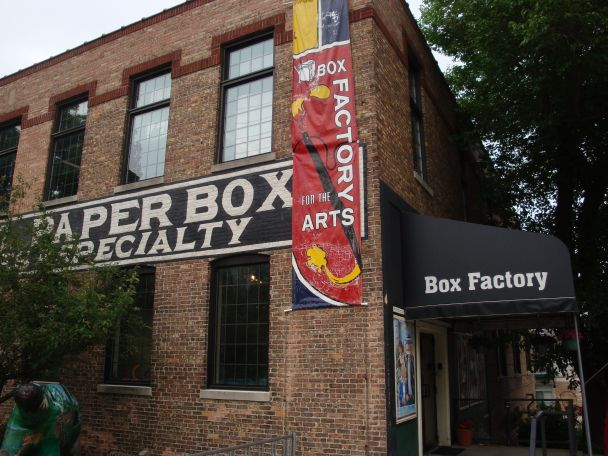 Box Factory Art Center in St. Joseph, MI
